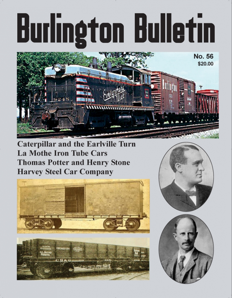 Burlington Bulletin No. 56 COver