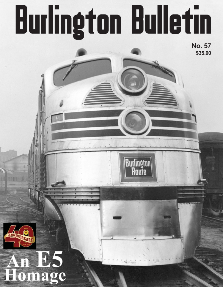 Burlington Bulletin #57 Cover