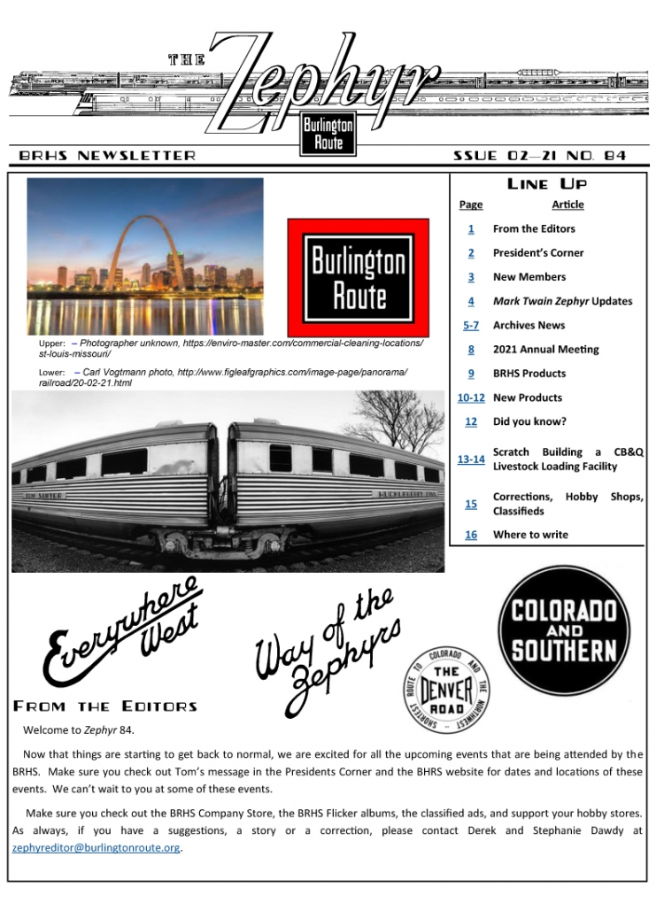 Zephyr 84 - Issue 02-21